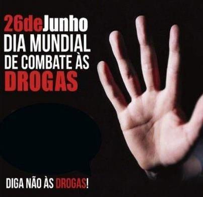 26 de junho - combate as drogas
